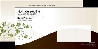 imprimerie enveloppe fleuriste et jardinage feuilles feuilles vertes nature MLGI23618