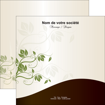 modele en ligne flyers fleuriste et jardinage feuilles feuilles vertes nature MLGI23620