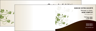 faire carte de visite fleuriste et jardinage feuilles feuilles vertes nature MLGI23630