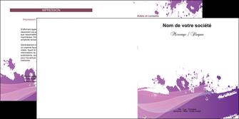 maquette en ligne a personnaliser depliant 2 volets  4 pages  peinture texture contexture structure MLGI23734