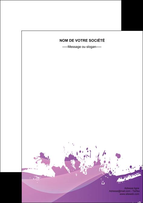 faire modele a imprimer flyers peinture texture contexture structure MLGI23750