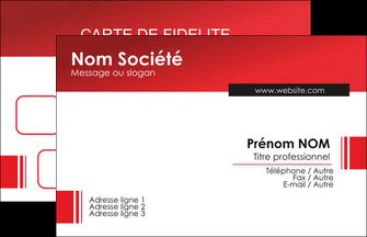 Impression pancarte extérieure pas chere  Carte commerciale de fidélité devis d'imprimeur publicitaire professionnel Carte de Visite - Paysage
