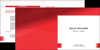 faire depliant 2 volets  4 pages  texture contexture structure MLGI24192
