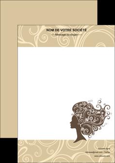 modele en ligne flyers institut de beaute beaute coiffure soin MLGI24212