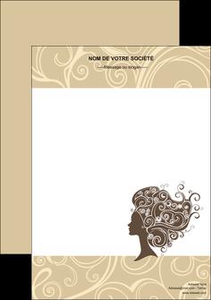 modele affiche institut de beaute beaute coiffure soin MLGI24216