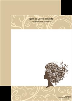 cree affiche institut de beaute beaute coiffure soin MLGI24222