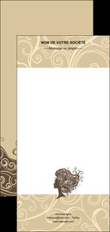 maquette en ligne a personnaliser flyers institut de beaute beaute coiffure soin MLGI24224