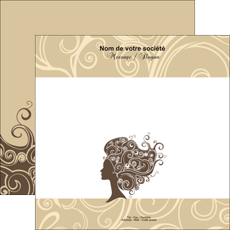 impression flyers institut de beaute beaute coiffure soin MLGI24230