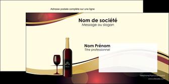 modele en ligne enveloppe vin commerce et producteur vin vignoble bouteille de vin MLIG24294