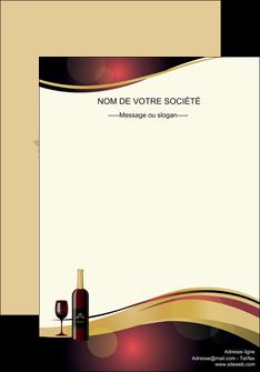 creer modele en ligne affiche vin commerce et producteur vin vignoble bouteille de vin MLIG24298
