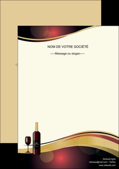 imprimerie affiche vin commerce et producteur vin vignoble bouteille de vin MLIG24302