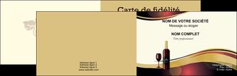 realiser carte de visite vin commerce et producteur vin vignoble bouteille de vin MLIG24306