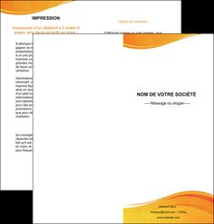 faire depliant 2 volets  4 pages  texture contexture structure MLGI24414