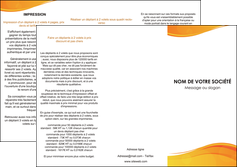 cree depliant 3 volets  6 pages  texture contexture structure MLGI24428