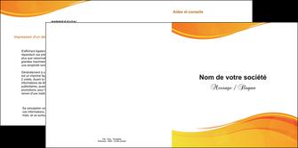 creer modele en ligne depliant 2 volets  4 pages  texture contexture structure MLGI24430