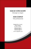 imprimer carte de visite structure contexture design simple MLGI24576