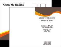 imprimer carte de visite structure contexture design simple MLGI24608