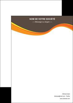 modele flyers structure contexture design simple MLGI24612