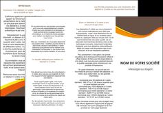 personnaliser modele de depliant 3 volets  6 pages  structure contexture design simple MLGI24614