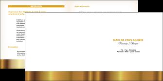 faire depliant 2 volets  4 pages  texture structure contexture MLGI24746