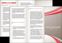 maquette en ligne a personnaliser depliant 3 volets  6 pages  structure contexture design simple MLGI24830