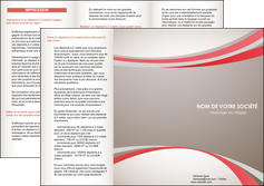 exemple depliant 3 volets  6 pages  structure contexture design simple MLGI24832