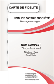 exemple carte de visite structure contexture design simple MLGI24836