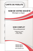 exemple carte de visite structure contexture design simple MLIP24836