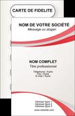 exemple carte de visite structure contexture design simple MLGI24836