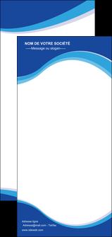 Impression flyer publicitaire  papier à prix discount et format Flyer DL - Portrait (21 x 10 cm)
