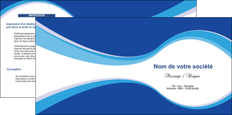 faire modele a imprimer depliant 2 volets  4 pages  texture contexture structure MIF24896