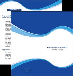 maquette en ligne a personnaliser depliant 2 volets  4 pages  texture contexture structure MLIG24904