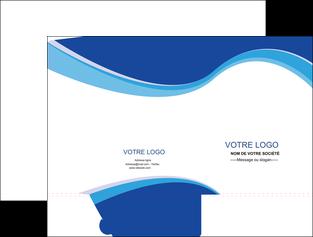 Impression Chemise / pochette à rabats  papier à prix discount et format Chemises à rabats - A4 (recto seul)