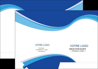 Impression Chemise / pochette à rabats  devis d'imprimeur publicitaire professionnel Chemises à rabats - A4 plus - Quadri recto-verso - double rainages