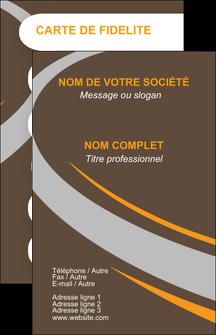 Impression imprimeur en ligne carte postale  Carte commerciale de fidélité devis d'imprimeur publicitaire professionnel Carte de visite - Portrait