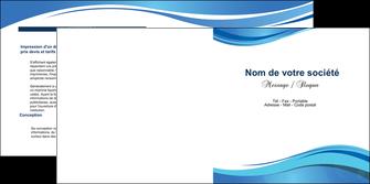 imprimer depliant 2 volets  4 pages  texture contexture structure MLGI25020