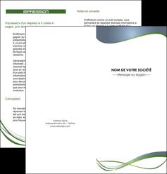 faire depliant 2 volets  4 pages  texture contexture structure MIF25188