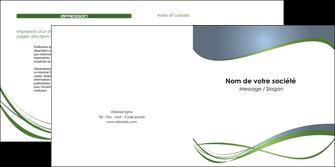 exemple depliant 2 volets  4 pages  texture contexture structure MLGI25202