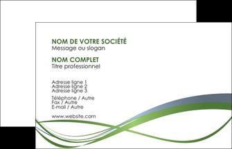 Commander Carte de visite papier de création  papier publicitaire et imprimerie Carte de Visite - Paysage