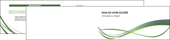 realiser depliant 2 volets  4 pages  texture contexture structure MLGI25210