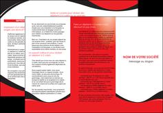 realiser depliant 3 volets  6 pages  texture contexture structure MIF25222