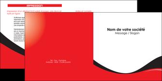 faire depliant 2 volets  4 pages  texture contexture structure MIF25230
