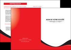 imprimerie depliant 2 volets  4 pages  texture contexture structure MIF25240