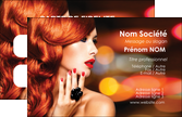 impression carte de visite centre esthetique  coiffure coiffeur coiffeuse MLGI25276