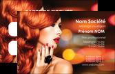 impression carte de visite salon de coiffure coiffure coiffeur coiffeuse MLGI25276