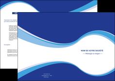 imprimer depliant 2 volets  4 pages  texture contexture structure MIF25312