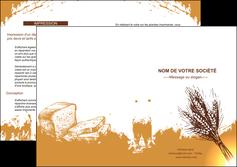 maquette en ligne a personnaliser depliant 2 volets  4 pages  boulangerie boulangerie boulange boulanger MLGI25318