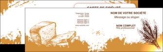 realiser carte de visite boulangerie boulangerie boulange boulanger MLGI25330