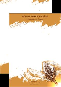 imprimer flyers boulangerie boulangerie boulange boulanger MLGI25342