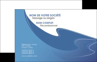 Impression carte visite pelliculage mat  devis d'imprimeur publicitaire professionnel Carte de Visite - Paysage